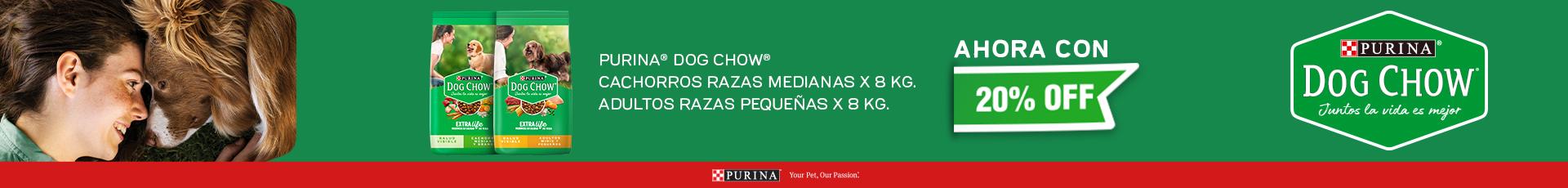 ALIMENTO PARA PERRO DOG CHOW